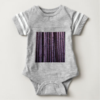 vertical tree lines baby bodysuit