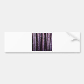 vertical tree lines bumper sticker