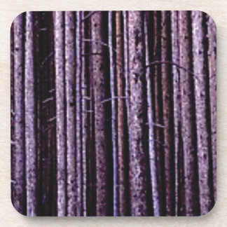 vertical tree lines coaster