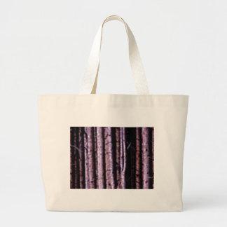 vertical wood lines large tote bag