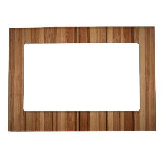 Vertical Wooden Grain Magnetic Frames