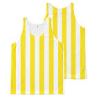 Vertical Yellow Stripes All-Over-Print Tank Top