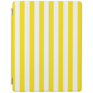 Vertical Yellow Stripes iPad Cover