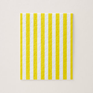 Vertical Yellow Stripes Jigsaw Puzzle