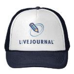 Verticale de logo de LiveJournal Casquette De Camionneur