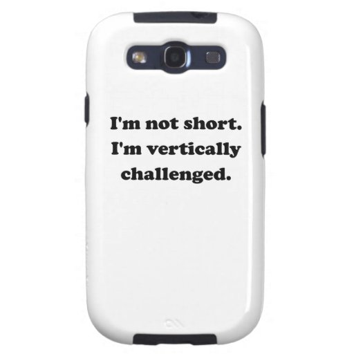 Vertically Challenged Galaxy S3 Cover
