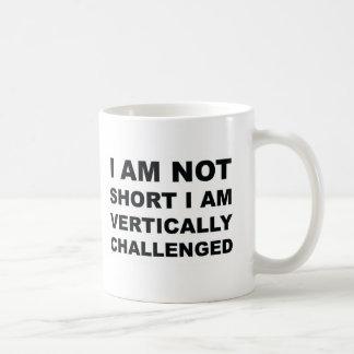 Vertically Challenged Coffee Mug