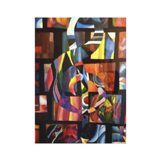 """""""Vertigo I"""" Canvas Print"""