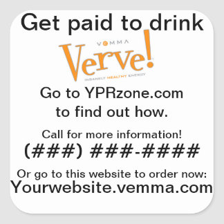 Verve Can Prospecting Sticker
