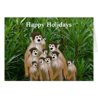 Vervet Family Holiday Photo Cards