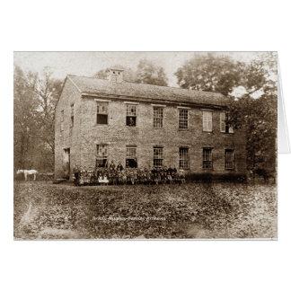 Vervilla School-1889 Card