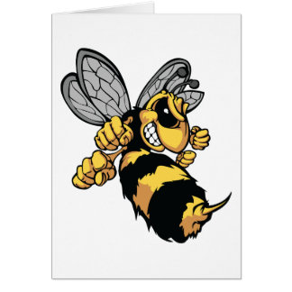Very Angry Bee Greeting Cards