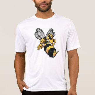 Very Angry Bee Mens Active Tee