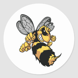Very Angry Bee Stickers