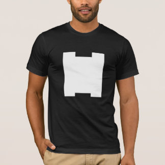 VERY ARTY H MONOGRAM BLACK T-Shirt