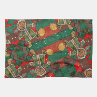 Very Beary Christmas Teddy Kitchen Towel