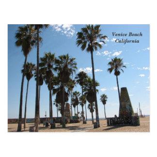 Very Beautiful Venice Beach Postcard! Postcard