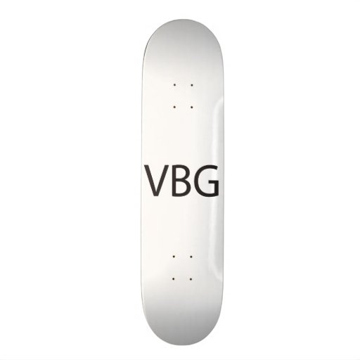 Very Big Grin.ai Skate Board Deck