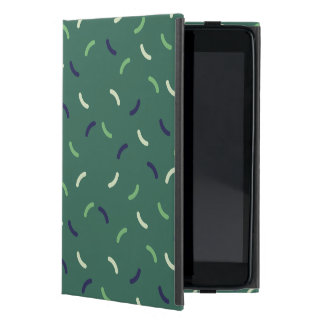 Very British graphic train and bus seat patterns iPad Mini Cover
