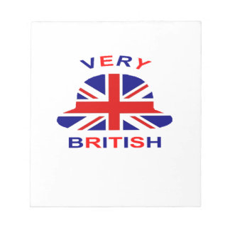 very british notepad