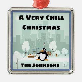 Very Chill Christmas Ornament