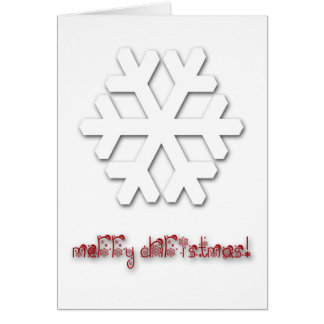 Very Classy Deluxe Christmas Greeting Card! Card