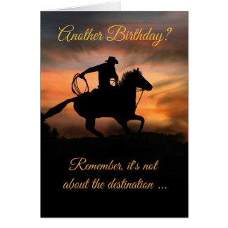 Very Cool Cowboy Birthday Card