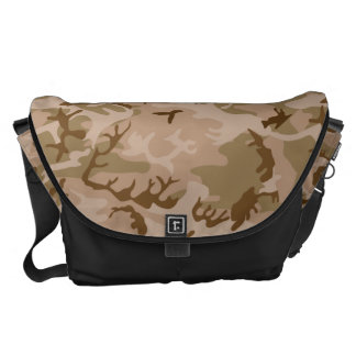 Very Cool Military Style Desert Camo Pattern Commuter Bags