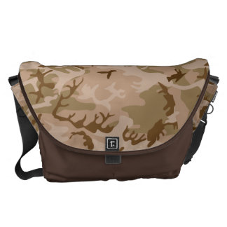 Very Cool Military Style Desert Camo Pattern Messenger Bags