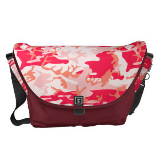 Very Cool Military Style Pink Camo Pattern Commuter Bags