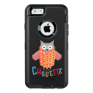 Very Cool Owl French Pun OtterBox Defender iPhone Case