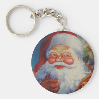 Very Cool Santa Claus Keychain
