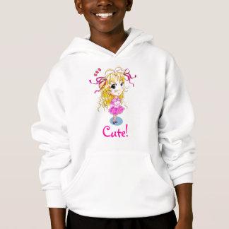 """""""Very Cute!"""" Anime/manga Girl Hoodie"""