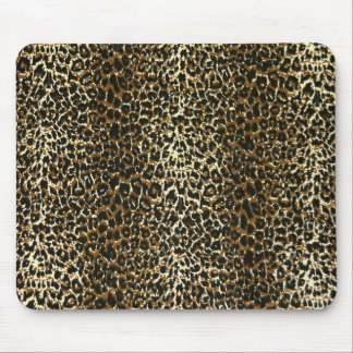 Very cute Leopard print pattern mouse pad