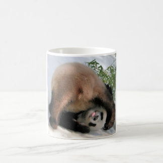 very cute panda coffee mug