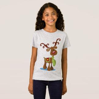 Very Cute Reindeer Christmas | Jersey Shirt