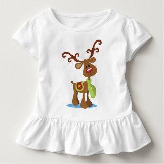 Very Cute Reindeer Christmas | Ruffle Tee