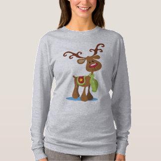 Very Cute Reindeer Christmas | Sleeve Shirt
