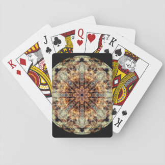 Very detailed Vintage Mandala Playing Cards