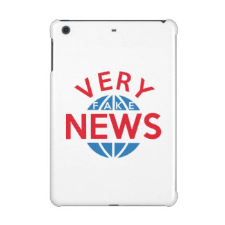 Very Fake News iPad Mini Covers