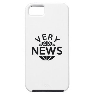 Very Fake News iPhone 5 Case