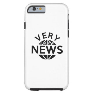 Very Fake News Tough iPhone 6 Case