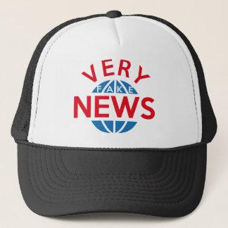 Very Fake News Trucker Hat