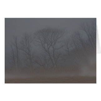 Very Foggy Morning notecard