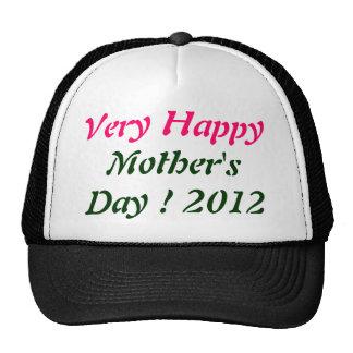 Very Happy Mother's day 2012 Trucker Hat