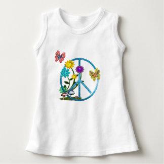 Very Hippy Day Whimsical Fantasy Art Dress