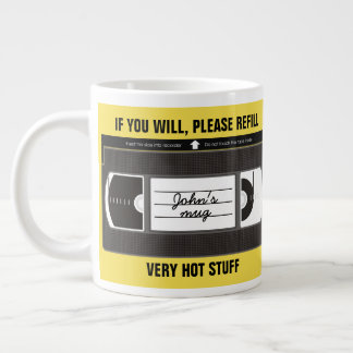 Very Hot Stuff (VHS) Large Coffee Mug