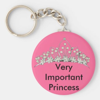 Very Important Princess Keychain