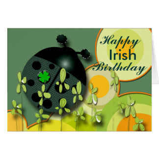 Very Irish Birthday Greeting Card
