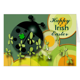 Very Irish Easter Card